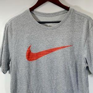 Nike Tee The Nike Tee Athletic Cut DriFit Gray